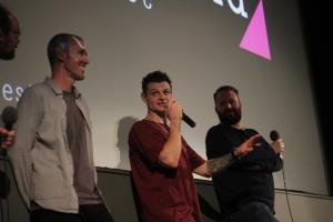 Eddie and Tas at Q&A